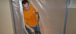 Mold Removal Tech Using Vapor Barrier