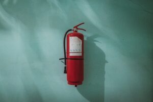fire extinguisher for fireproofing home